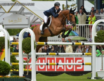 Hello Sanctos, winner of the Rolex Grand Slam and team gold at the 2012 Olympic Games in London