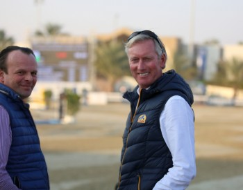 Gerald Lenaerts and Jos Lansink in Sharjah 2018